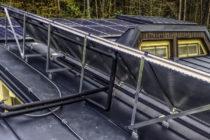 Zásobník pre fotovoltické panely je otvorený